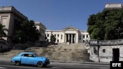 Vista de la Universidad de La Habana.