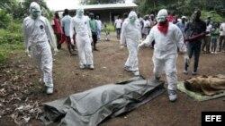 Ébola en África. Archivo.