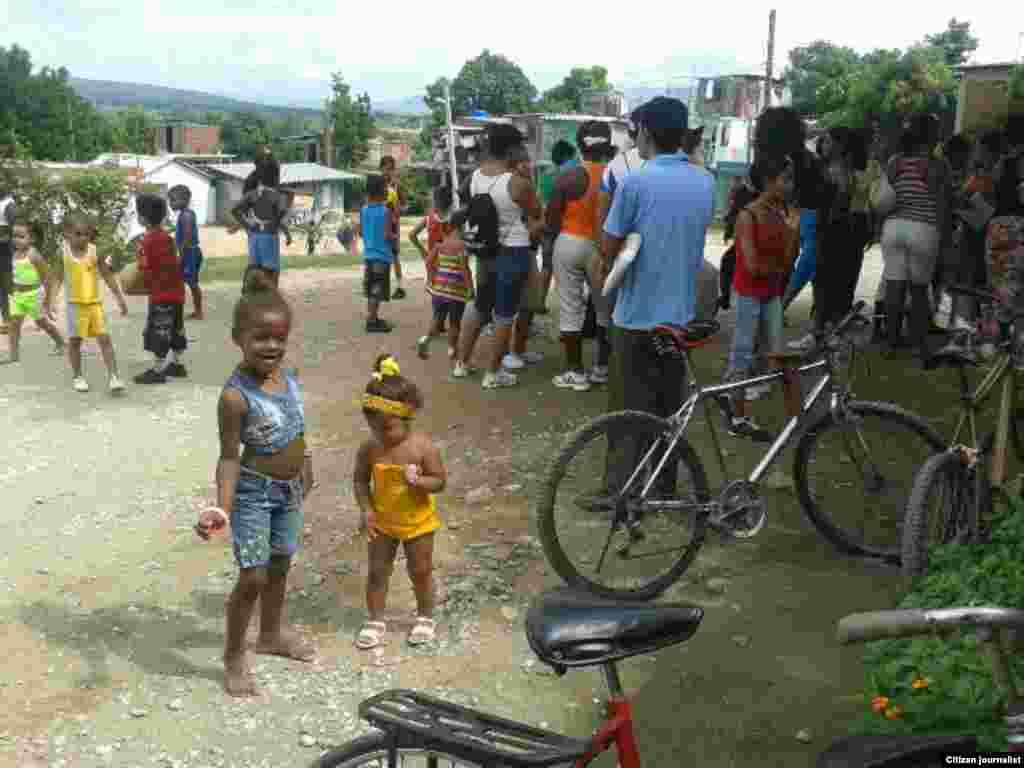 El verano se ofrece con pocas posibilidades para los niños en Guatánamo, advierte el reportero ciudadano Abel López Pérez.