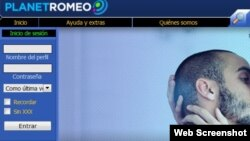 Planet Romeo.