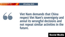 Agresiones de China a Vietnam