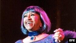 Recuerdan a La Reina de la Salsa, Celia Cruz.
