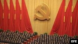 El Congreso del Partido Comunista Chino fue clausurado en el Gran Palacio del Pueblo, en Pekín.