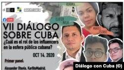 Folleto del VII Diálogo sobre Cuba