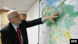 El ministro venezolano de Planificación y Desarrollo, Jorge Giordani,
