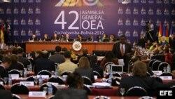 Plenario de la Asamblea General de la OEA