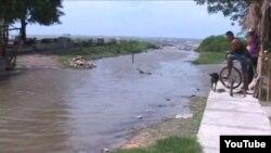 Penetraciones del mar en Manzanillo