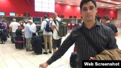 Las autoridades han prohibido viajar al exterior a Carlos Amel Oliva en cinco ocasiones, esta vez no le dejaron siquiera tramitar la visa a República Dominicana. (Foto Archivo: 14ymedio)