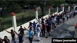 Activistas UNPACU. Foto enviada a Reporta Cuba por UNPACUPress