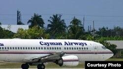 Avión de compañía aérea de Grand Cayman