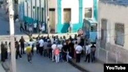 Despliegue policial en Santiago de Cuba