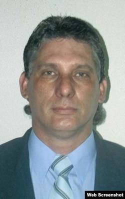 Miguel Mario Díaz-Canel Bermúdez, en una foto de 2007.
