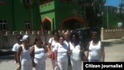 Reporta Cuba. Damas de Blanco. Foto: Berta Soler.