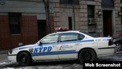 Vehiculo de patrulla de la Policia de Nueva York
