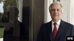 GRA233. MADRID, 06/06/2014.- El expresidente de Uruguay y candidato a las elecciones presidenciales por el Frente Amplio, Tabaré Vázquez.