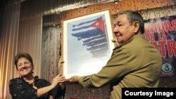 Raúl Castro y la FMC