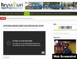 Video de Víctor Mesa sobre Fidel Castro ya no está disponible en YouTube.