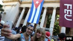 """Crucero """"Semestre en el Mar"""" llega a La Habana"""