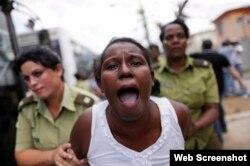 La represión a los opositores pacíficos en Cuba es parte esencial del Informe del Secretario de Estado (Foto: Archivo).