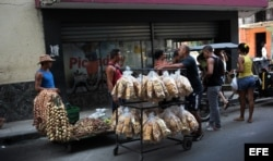 Vendedores ambulantes del sector privado