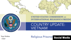 Vietnam informe USCIRF