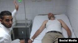 """El biólogo cubano Ariel Ruiz Urquiola en el hospital """"Abel Santamaría"""" de Pinar del Río. (Archivo. Lía Villares/Twitter)"""