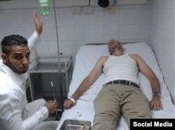 """El encarcelado biólogo cubano Ariel Ruiz Urquiola se mantenía en huelga de hambre en el hospital """"Abel Santamaría"""" de Pinar del Río (Lía Villares)"""