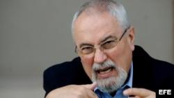 Ramón Guillermo Aveledo, coordinador de la Mesa de Unidad Democrática (MUD), que agrupa a la oposición de Venezuela.