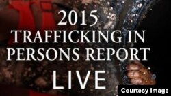 Informe Tráfico Humano 2015.
