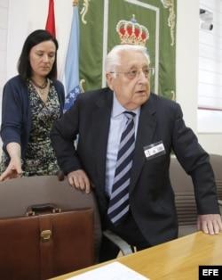 El exsubdirector general del Banco de España Víctor Moro.