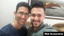 Nadir y Jorge Martín Perdomo (Foto tomada del perfil de Martha Perdomo en Facebook)