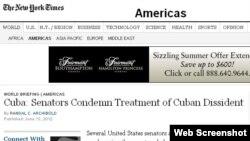 El New York Times reportó la detención de Antunez
