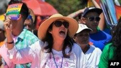 Mariela Castro Espín, diputada a la Asamblea Nacional del Poder Popular e hija del dictador Raúl Castro. (Archivo, AFP)..
