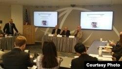 Conferencia sobre Cuba en IRI de Washington DC organizada por el CSI de Miami