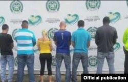 Algunos de los 15 cubanos detenidos en Leticia, Colombia, con cédulas colombianas falsas o sin documentos.