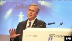 El precandidato republicano a la Presidencia de Estados Unidos, Jeb Bush.