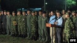 El presidente colombiano, Juan Manuel Santos advirtió a las FARC que durante las negociaciones no habrá cese al fuego.