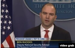 Ben Rhodes ofrece detalles sobre los objetivos de la visita del presidente Obama a Cuba