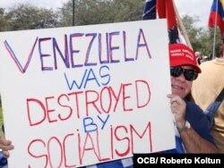 """""""La batalla por Venezuela es por la democracia en todos lados"""", dijo Pelosi en Weston. (Foto: Roberto Koltun)"""