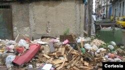Escombros en La Habana