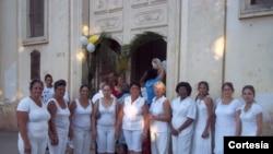 Damas de Blanco hacen llamado por la vida de presos políticos en huelga de hambre