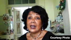 Aimée Cabrera, periodista independiente.