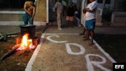 Caldosa en La Habana para los CDR