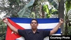 El opositor Yordanys Labrada (Imagen tomada de su perfil de Facebook).
