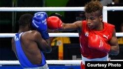 El boxeador cubano Joahnys Argilagos, bicampeón mundial de peso minimosca, se quedó en medalla de bronce en los Juegos Olímpicos de Río de Janeiro.