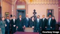 Delegación del Parlacen en DC.