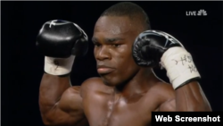 El boxeador Edner Cherry.