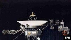 Fotografía de archivo de una nave Voyager.