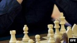 El jugador de ajedrez cubano Leinier Domínguez.