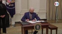 Presidente Biden explica los decretos firmados en torno a la economía de EEUU